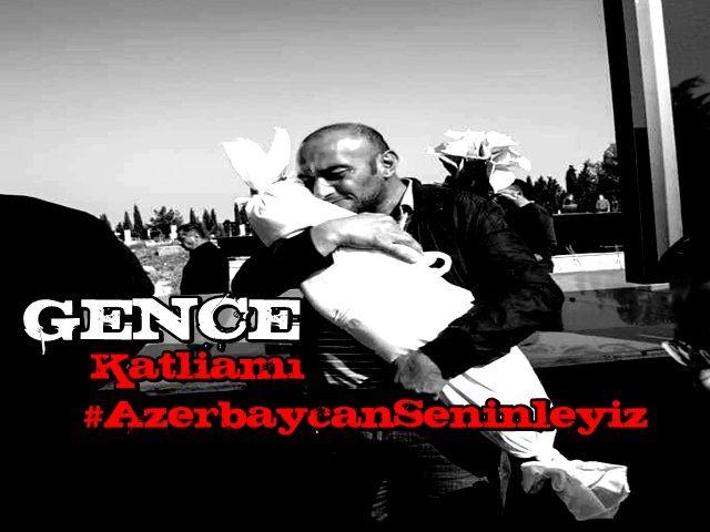 Bebek katili Ermenistan'ın GENCE KATLİAMI