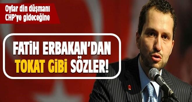 Erbakan'dan Saadet'e tokat gibi sözler!