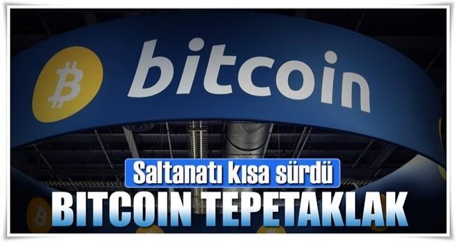 Bitcoin çakıldı: 10 bin $'ın altına düştü