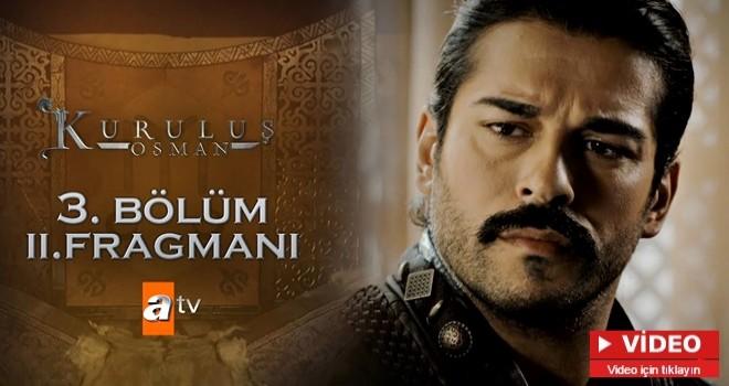 Kuruluş Osman'ın merakla beklenen yeni fragmanı yayınlandı