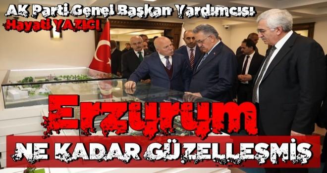 Yazıcı'dan Erzurum Büyükşehir'e TAM NOT
