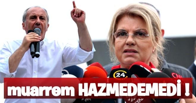 Muarrem,Çiller'in AK Parti mitingine katılmasını hazmedemedi!