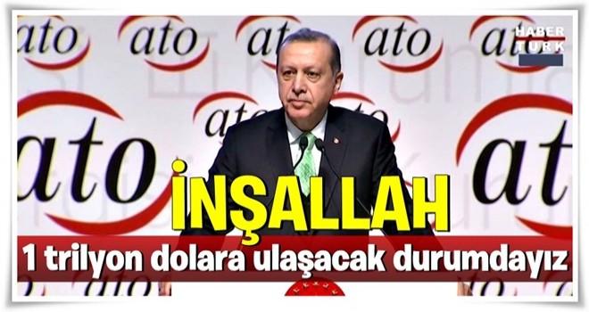 Cumhurbaşkanı Erdoğan'dan döviz açıklaması.