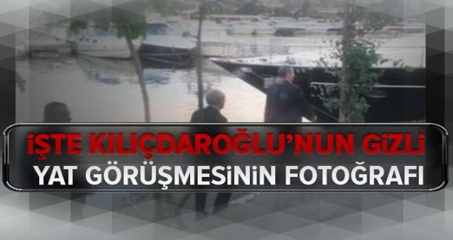 İşte Kemal Kılıçdaroğlu'nun gizli yat görüşmesinin fotoğrafı .