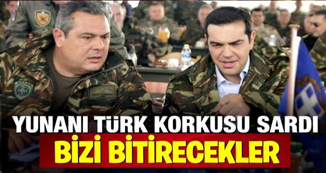 Yunanistan'ın Türk korkusu! Bizi bitirecekler