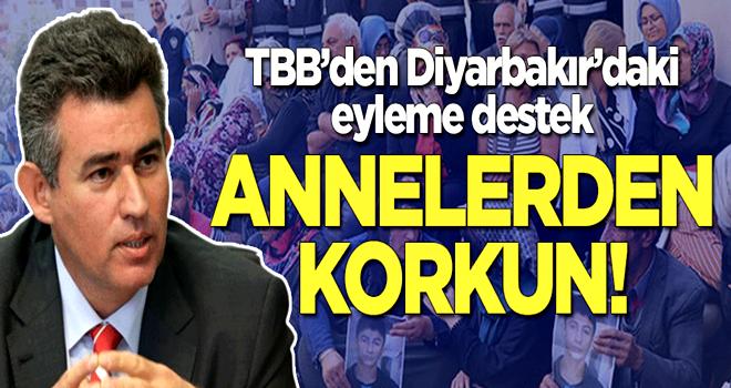 Türkiye Barolar Birliği'nden Diyarbakır'daki eyleme destek: Annelerden korkun!
