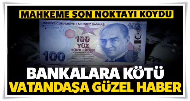 Bankaya kötü vatandaşa iyi haber!
