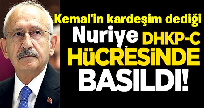 Kılıçdaroğlu'nun 'kardeşim' dediği Nuriye Gülmen DHKP-C hücresinde basıldı