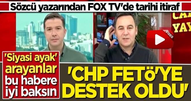 Sözcü yazarından FOX TV'de bomba itiraf: