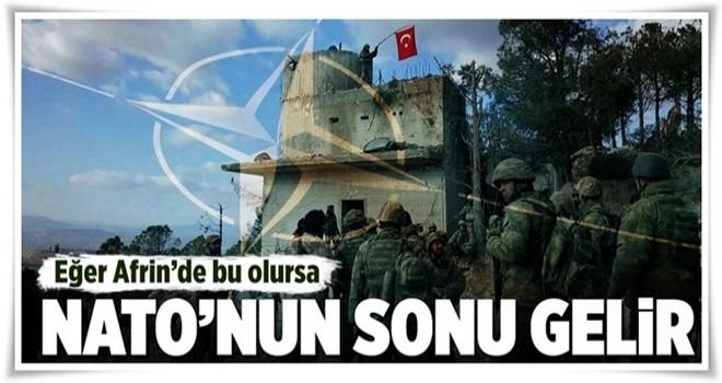 ABD ile Türkiye çatışırsa NATO'nun sonu gelir! .