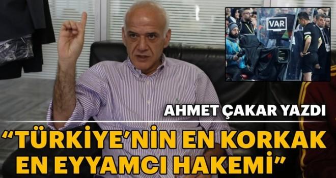 Türkiye'nin en korkak hakemi