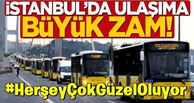 İstanbul'da ulaşıma büyük zam! Otobüs, metro, metrobüs ücretleri ne kadar oldu?