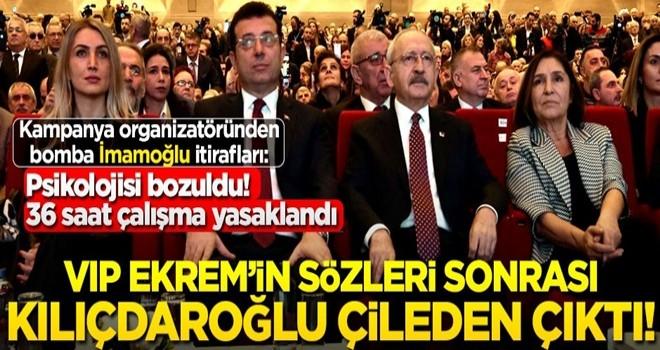 İmamoğlu'nun skandal sözlerinden sonra Kılıçdaroğlu çileden çıktı!