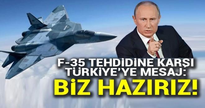 ABD'nin F-35 tehdidine karşı Türkiye'ye mesaj: Biz hazırız