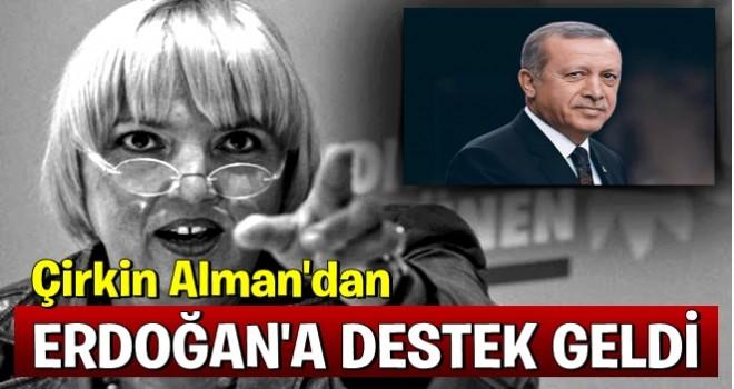 Alman vekilden Erdoğan'a destek geldi!