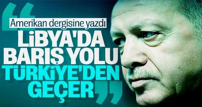 Cumhurbaşkanı Erdoğan'dan Libya konulu makale