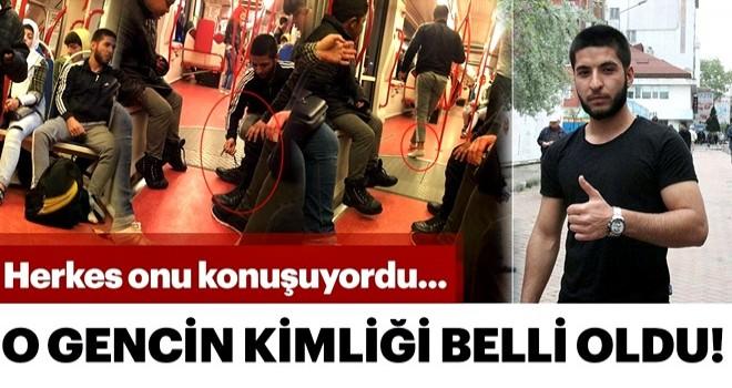 Samsun'da tramvayda ayakkabılarını veren gencin kim olduğu ortaya çıktı