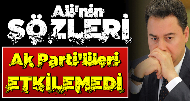 Son kulis: Babacan'ın sözleri AK Partililerde karşılık bulmadı