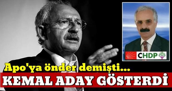 CHP Öcalan sempatizanı Parlak'ı aday gösterdi