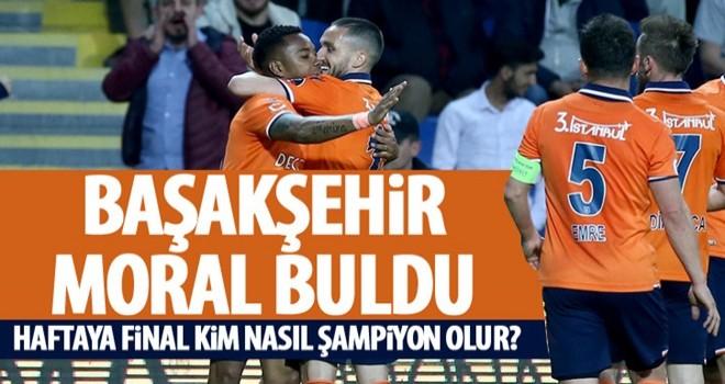 Başakşehir, Galatasaray maçı öncesi moral buldu