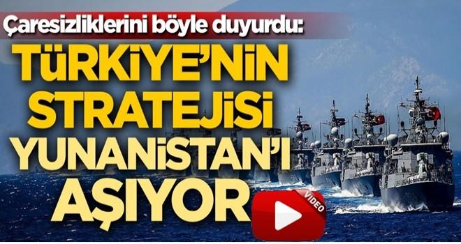 Çaresizliklerini böyle duyurdu: Türkiye'nin stratejisi Yunanistan'ı aşıyor