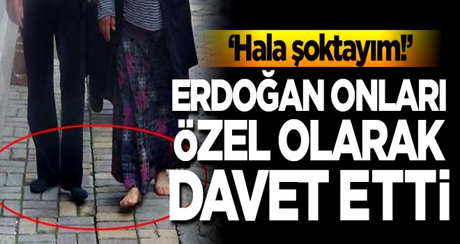 Cumhurbaşkanı Erdoğan onları özel olarak davet etti! 'Hala şoktayım'