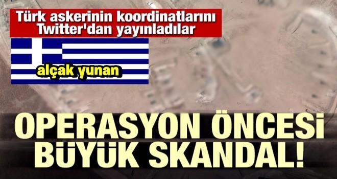 Büyük skandal! Türk askerinin koordinatlarını yayınladılar