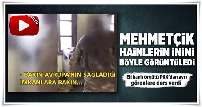 Mehmetçik Bülbül'de terör örgütü YPG'nin karargahına girdi.