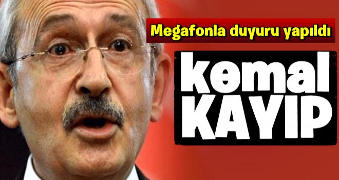 Kılıçdaroğlu kayıplara karıştı