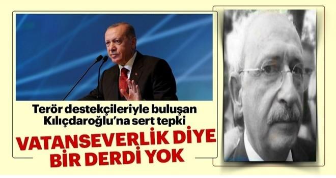 Kılıçdaroğlu'nun vatanseverlik diye derdi yok