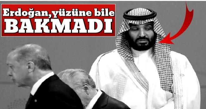 Erdoğan, G-20 Zirvesi'nde Prens Selman'ı görmezden geldi