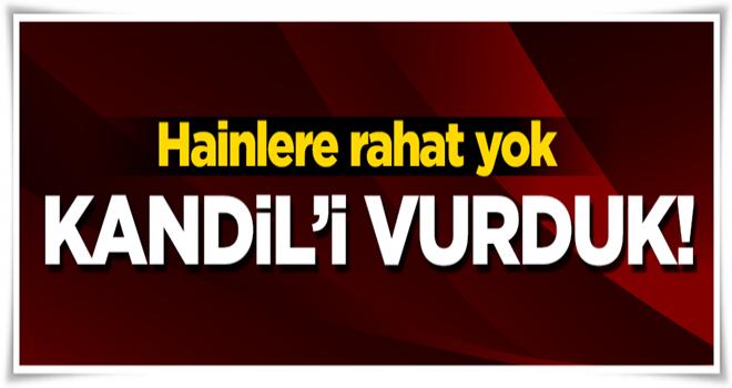 TSK'dan Kandil'e hava harekatı:11 hedef imha edildi