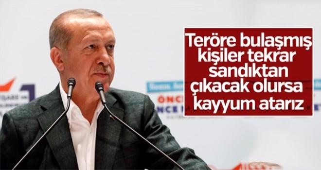 Başkan Erdoğan'dan kayyum uyarısı