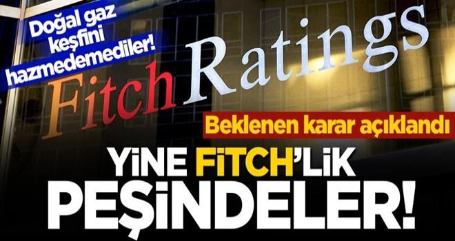 Doğal gaz keşfini hazmedemediler! Fitch'ten skandal Türkiye notu