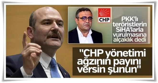 Süleyman Soylu, Sezgin Tanrıkulu için CHP'ye çağrı yaptı
