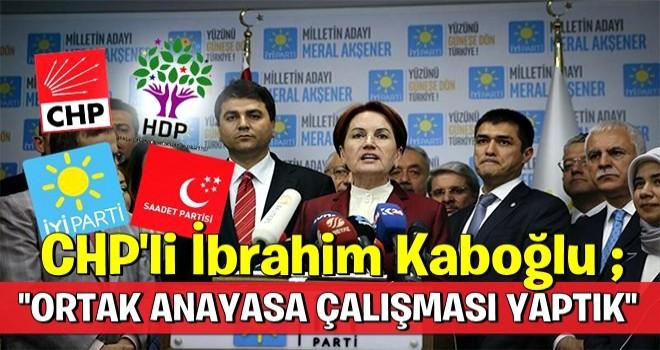 CHP-İyi Parti-HDP-SP ortak anayasa çalışması yaptı