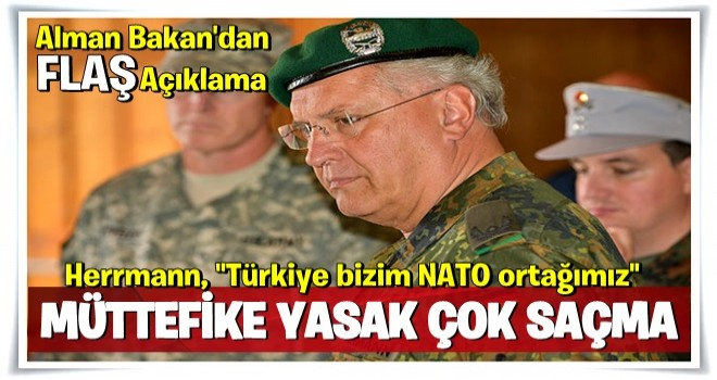 Alman Bakan'dan flaş NATO açıklaması