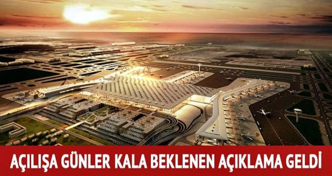 İstanbul Yeni Havalimanı'na gidecek İETT hatları belli oldu