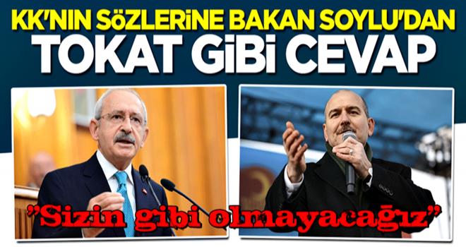 Kılıçdaroğlu'nun çağrısına Bakan Soylu'dan sert cevap: Sizin gibi olmayacağız