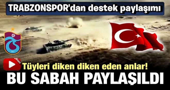 Trabzonspor'dan tüyleri diken diken eden paylaşım!