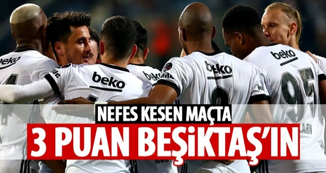 Beşiktaş Osmanlı'yı ateşe attı