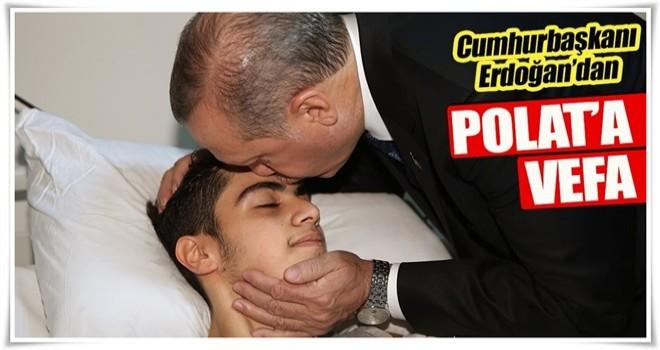 Cumhurbaşkanı Erdoğan'dan vefa ziyareti