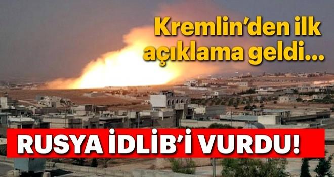Saldırı sonrası Kremlin'den İdlib açıklaması!