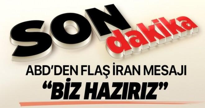 Mike Pompeo'dan İran mesajı: Hazırız.