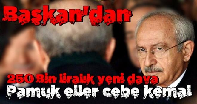 Başkan Erdoğan'dan K.K'ya tazminat davası