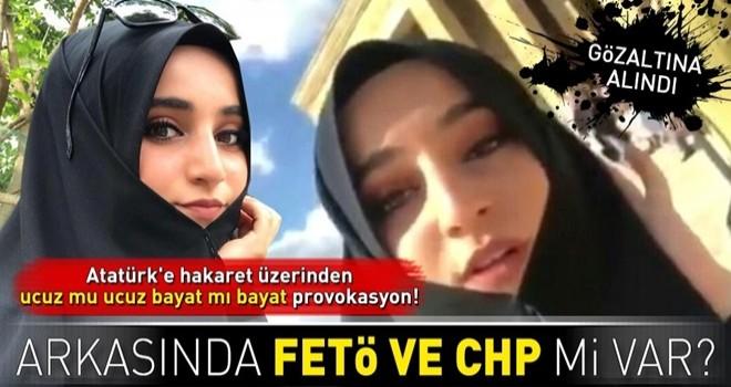 Atatürk'e hakaret eden Safiye İnci'nin arkasında CHP ve FETÖ mü var .