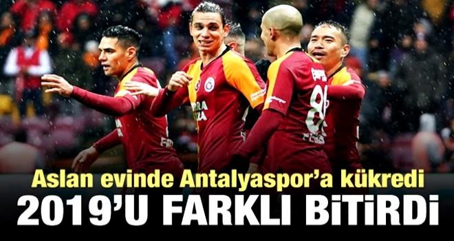 Aslan, Antalyaspor'a kükredi! 2019'u farklı bitirdi