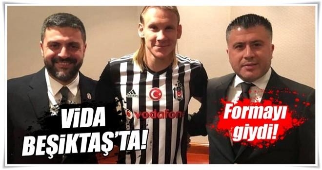 Domagoj Vida Beşiktaş'ta