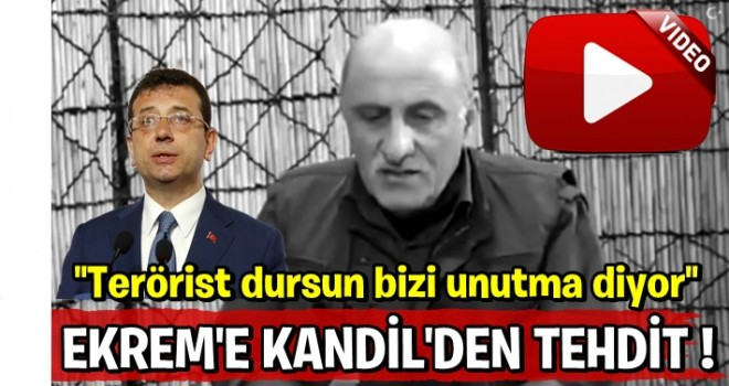 PKK'dan Ekrem İmamoğlu'na tehdit!