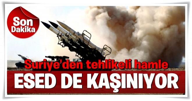Katil Esed Halep ve İdlib bölgelerine hava savunma füzeleri konuşlandırdı